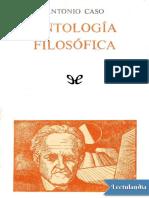 Antologia filosofica - Antonio Caso.pdf