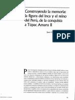 Juan Carlos Estenssoro - Conquistando la memoria del Inca y del reino del Peru