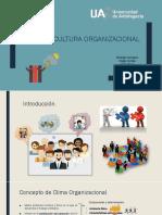 Clima y Cultura Organizacional Presentación ppt