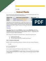 Bài viết Subnet Masks.doc