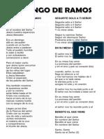 Cancionero de Ramos