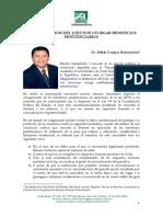 CAMPOS BARRANZUELA, Edhin. La Destitucion Del Juez Por Inaplicación de Beneficios Penitenciarios