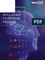 AI - Artificial Intelligence Program Brochure by Weschool, Bangalore (Welingkar Management Institute)