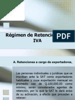 Regimen de Retenciones de Iva