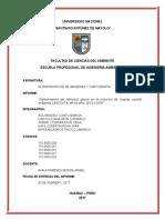 Informe Final - Cartografía
