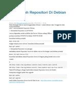 Menambah Repositori Di Debian