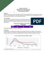 PA Sen Media Analysis 9-20-10