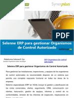 Selenne ERP Para Gestionar Organismos de Control Autorizado