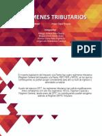 REGIMENES TRIBUTARIOS-exposición