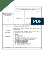 Spo Verifikasi Pasien Pre Operasi Di Kamar Operasi
