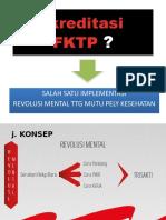 Akreditasi  FKTP NOTOSUMAN