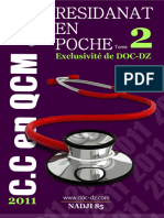 Residanat en Poche - 2011- Tome II - Cas Cliniques en Qcm