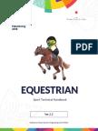 Equestrian Technical Handbook, the 18th Asian Games_6 June 2018