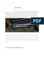Top Web Design Certifications to Improve Your Skills WDC We