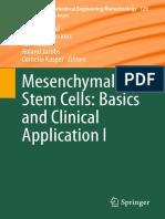 Mesenquinal Stem Cells  Basics and Clinics