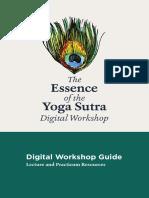 Yoga Sutra-Digital Workhop Guide