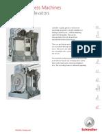 Schindler Modular Gearless Machines FMR355