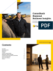 Regional Insights Report