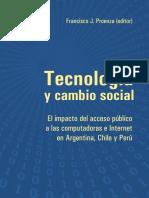 Tecnologia y Cambio Social