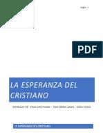 """""""La Esperanza Del Cristiano"""""""