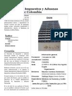 Dirección de Impuestos y Aduanas Nacionales de Colombia - Wikipedia, la enciclopedia libre