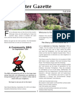 Stonewater Newsletter - 09 2010