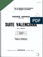 ASENCIO, Vicente - Suite Valenciana