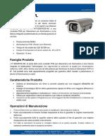 IT-SD6XPOE-WL - Custodie POE per Telecamera con Illuminatore a Luce Bianca