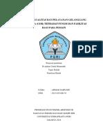 Tingkat Kualitas Dan Pelayanan Gelanggang Olah Raga( Siap Kumpul )