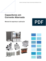 WEG Manual de Seguranca e Aplicacao de Capacitores r03 Pt
