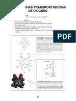 10 - Proteínas Transportadoras de Oxígeno