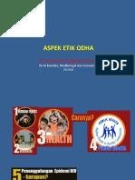 Aspek Etik ODHA