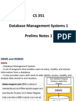 01-CS 351-PT-1-DBMS