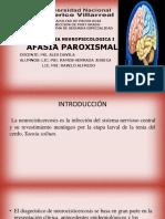 AFASIA PAROXISMAL