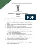 SPB049 - Health Boards (Procurement) (Scotland) Bill 2018