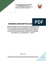 01 Memoria Descriptiva