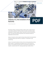 (2) Industry 4.0, the evolution of smart factories | LinkedIn