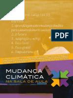 Mudança climática em sala de aula