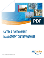 Safety & Environment Management on the Worksite