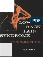 Rene Cailliet Low Back Pain Syndrome, Edition 3