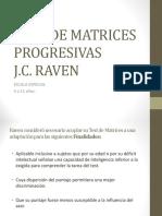 Test de Matrices Progresivas de Raven Escala Especial.ppt