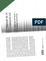 Manual de Terapia y Asesoria Sistemica