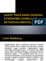 Ppt. Syndrom Down Dan Retardasi Mental