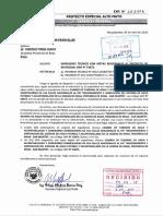 Cambio de Tuberías. SNIP N° 53873. Rioja.