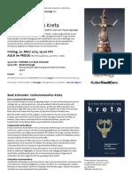 2013-02 lesung beat schneider minos kreta a4 mit buchhinweis