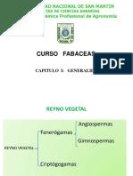 Capitulo I. Generalidades de las fabaceas