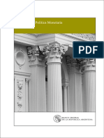 Informe de Política Monetaria del BCRA