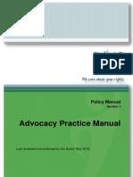 DAISAdvocacy Practice Manual 2016 ForWebP