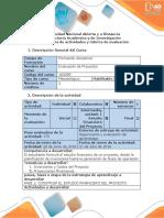 Guia y Rubrica de Evaluacion - Fase 2 Construir El Estudio Financiero Del Proyecto