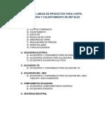 Catalogó de Productos Soldico